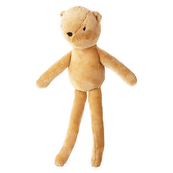 Okie Dokie Brown Bear Plush Doll Baby