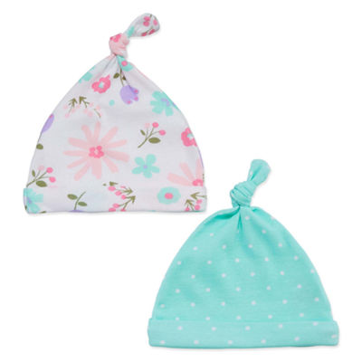 Okie Dokie Floral 2 Pack Hat - Baby Girl
