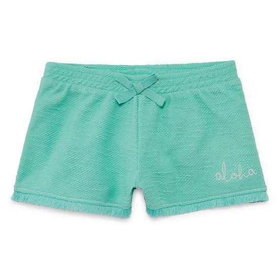 Arizona Fringe Shortie Shorts Girls 4-16 and Plus
