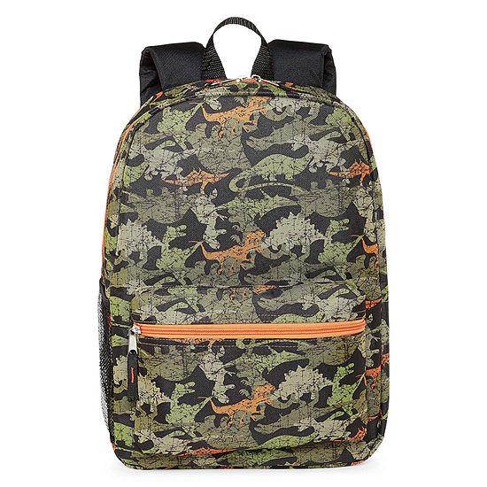 City Streets Camo Dino Backpack