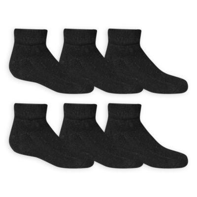 Fruit of the Loom Fruit Of The Loom Breathables 6 Pair Quarter Socks