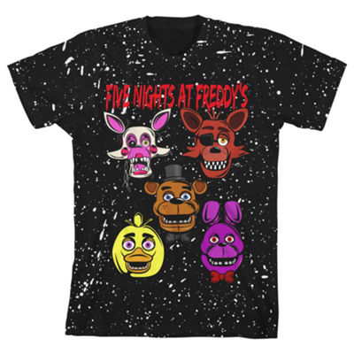 Five Nights at Freddys Graphic T-Shirt Boys