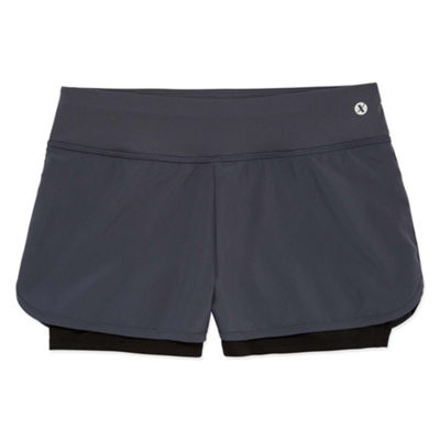 Xersion 2-in-1 Woven Running Short - Girls' Sizes 7-16 and Plus