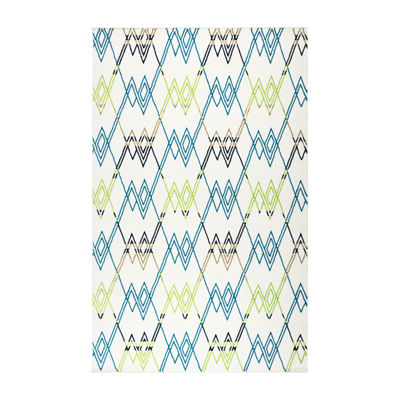 Rizzy Home Glendale Collection Blaze Geometric Rug