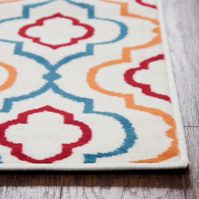 Rizzy Home Glendale Collection Jax Geometric Rug