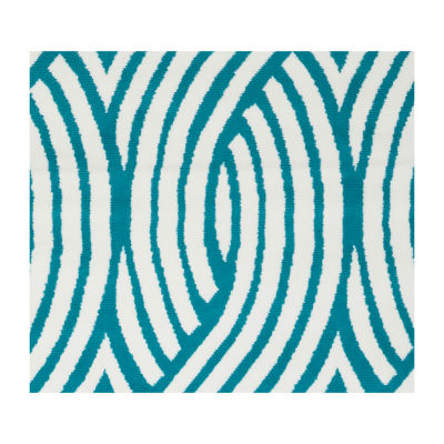 Rizzy Home Glendale Collection Zander Geometric Rug