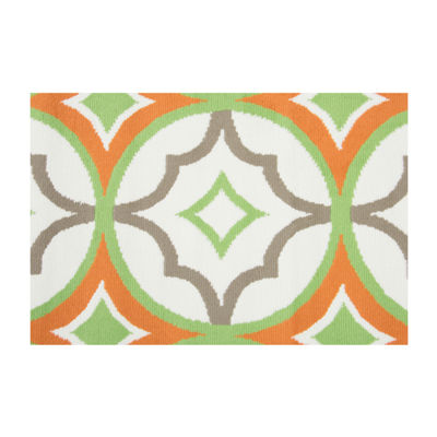 Rizzy Home Glendale Collection Jett Geometric Rug