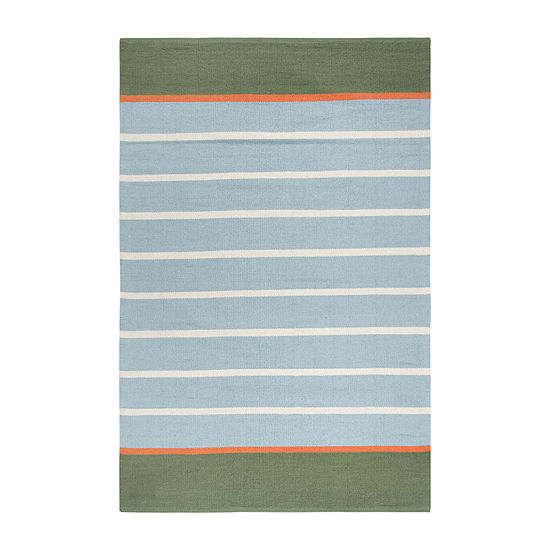 Rizzy Home Flip Top Collection Orlon Geometric Accent Rug