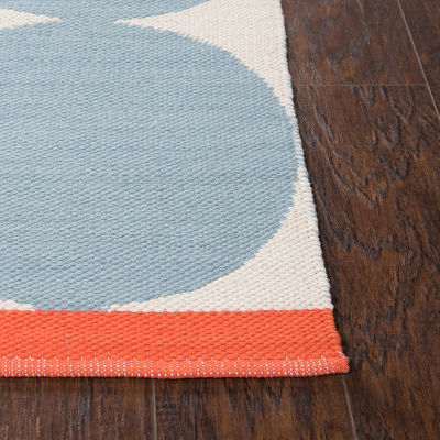 Rizzy Home Flip Top Collection Kace Geometric Accent Rug