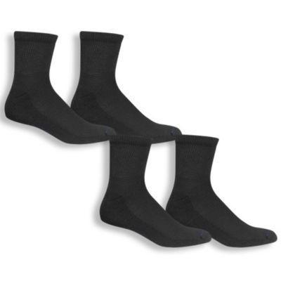 Dr. Scholl's Diabetes And Circulatory 4 Pair Low Cut Socks-Mens