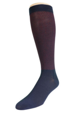 Dr. Scholl's Graduated Compression 2 Pair Over the Calf Socks-Mens