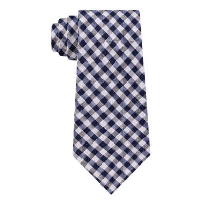 Stafford Plaid Tie XL