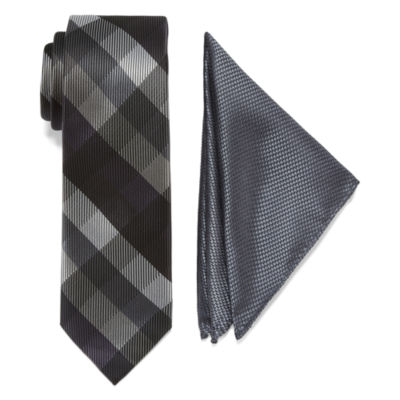 U.S. Polo Assn. Gingham Tie Set