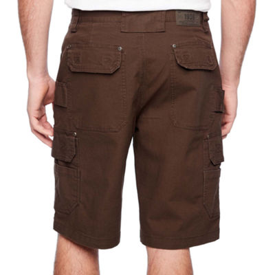 Smith Workwear Mens Mid Rise Cargo Shorts