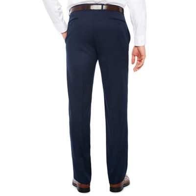 Collection by Michael Strahan  Mens Classic Fit Flat Front Pant