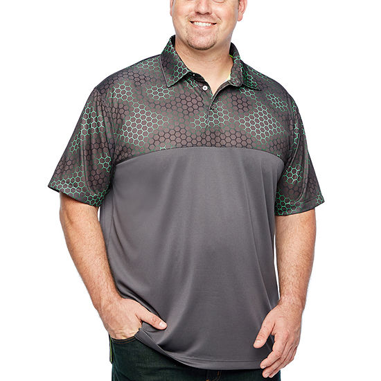 The Foundry Big & Tall Supply Co. Short Sleeve Performance Colorblock Polo Big and Tall