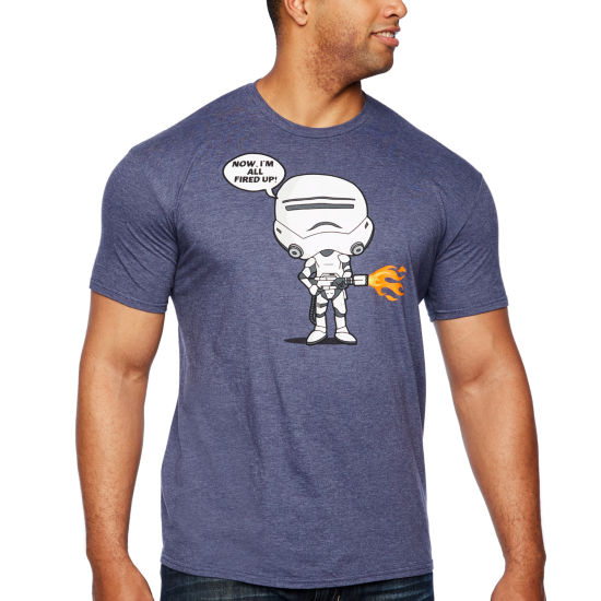 Mad Engine Short Sleeve Graphic T-Shirt-Big and Tall