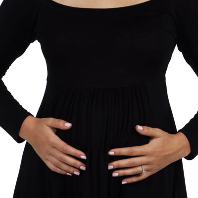 24/7 Comfort Apparel Laguna Maternity Tunic Top