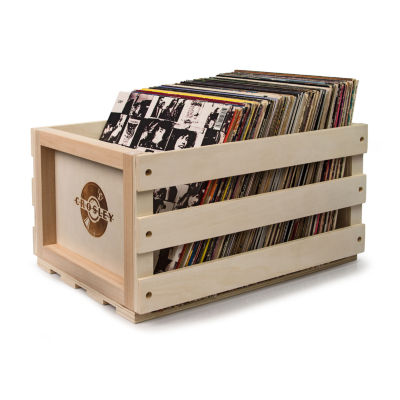 Crosley Record Storage Crate - Holds up to 75 Albums