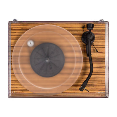 Crosley C20 Two-Speed Manual Turntable Deck - Zebrano