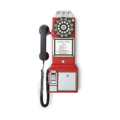 Crosley 1950's Classic Pay Phone