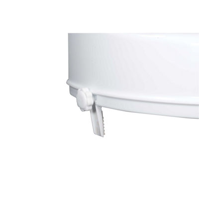 Drive Medical Raised Toilet Seat with Lock and Lid, Standard Seat