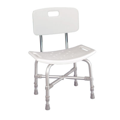 Drive Medical Bariatric Heavy Duty Bath Bench with Backrest