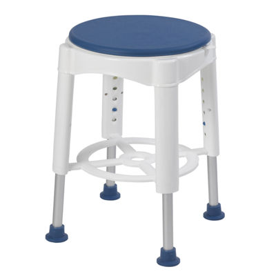Drive Medical Bathroom Safety Swivel Seat Shower Stool