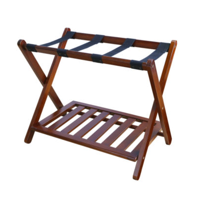 Luggage Rack with Shelf