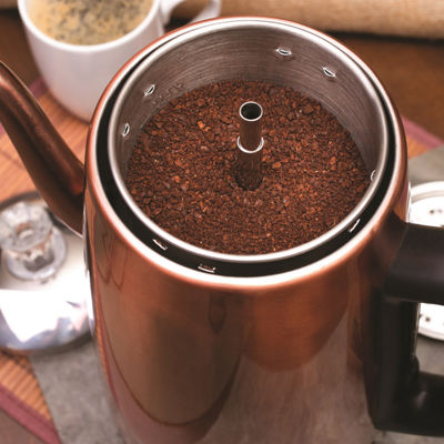 Euro Cuisine PER12 Electric Coffee Percolator - 12 Cups