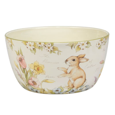 Certified International Bunny Patch Serving Bowl