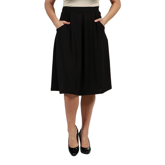 24/7 Comfort Apparel Symphony Skirt - Plus