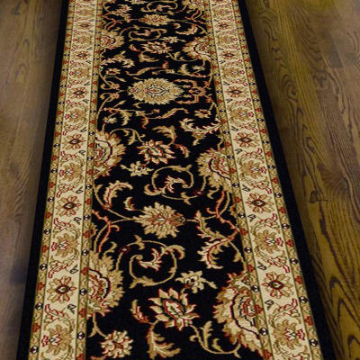 Como Abstract Traditional Oriental Area Rug