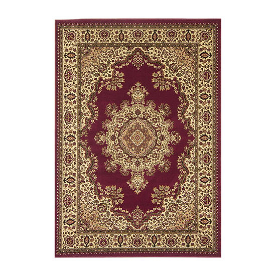Castello Cora Traditional Medallion Area Rug