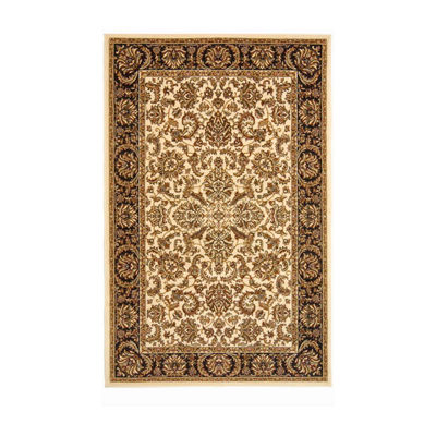 Noble Kashan Traditional Oriental Area Rug