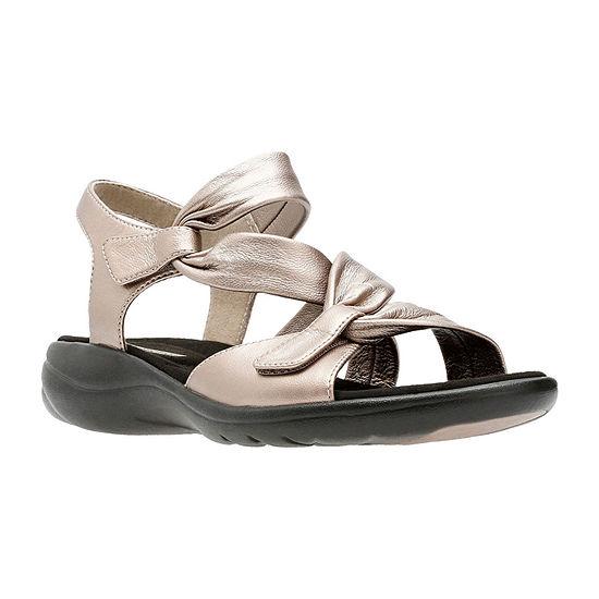 Clarks Womens Saylie Moon Strap Sandals