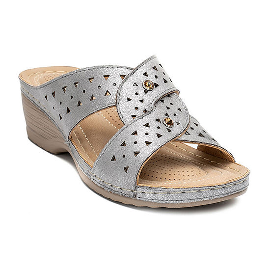 Good Choice By G.C Shoes Womens Quincy Wedge Sandals