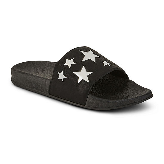 Arizona Womens Star Pool Slide Sandals