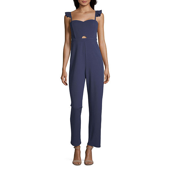Society And Stitch Sleeveless Jumpsuit - Juniors