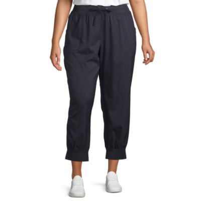 Liz Claiborne French Terry Jogger - Plus