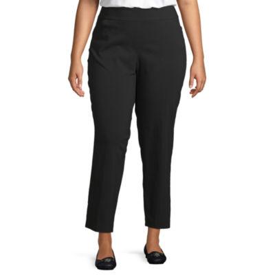 Liz Claiborne Pull On Pant - Plus