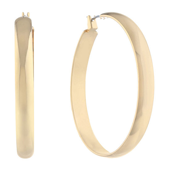 Gloria Vanderbilt 28mm Hoop Earrings