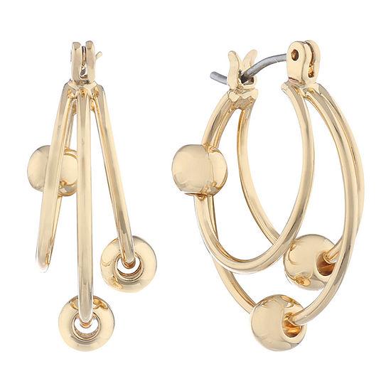 Gloria Vanderbilt 20.4mm Hoop Earrings