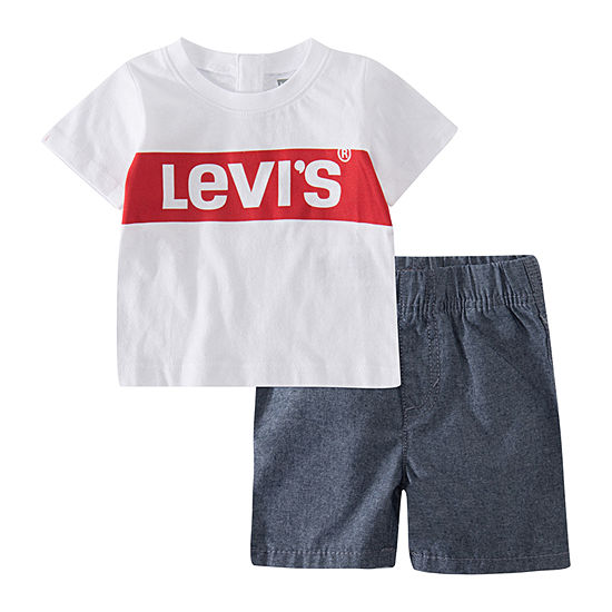 Levi's Boys 2-pc. Short Set Baby