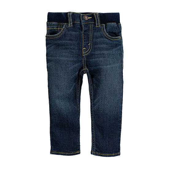 Levi's Boys Straight Pull-On Pants - Baby