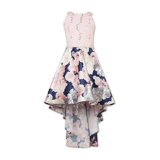 Speechless Embellished Sleeveless Floral Maxi Dress - Preschool / Big Kid Girls