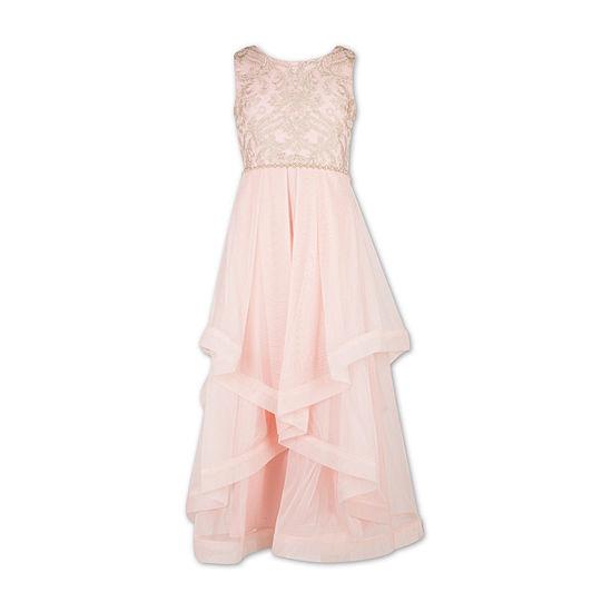 Speechless Embellished Sleeveless Maxi Dress Preschool Big Kid Girls