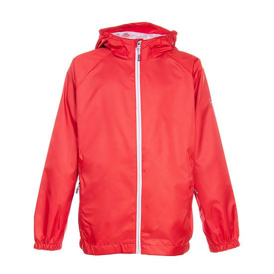 Boys Hooded Lightweight Raincoat-Big Kid