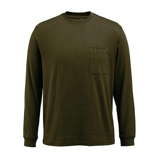 Wolverine Mens Crew Neck Long Sleeve Moisture Wicking T-Shirt