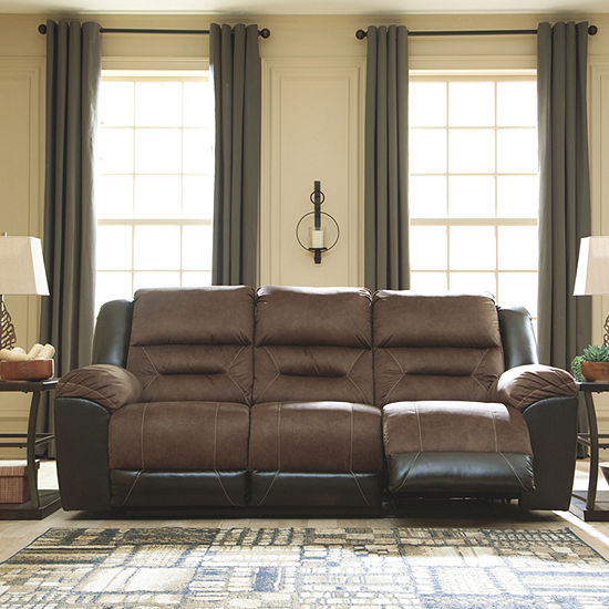 Signature Design by Ashley® Earhart Reclining Sofa